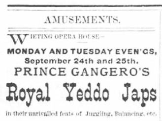 Royal Yeddo Japs 1877