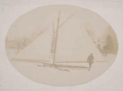 Charles Mollard's Ice Boat