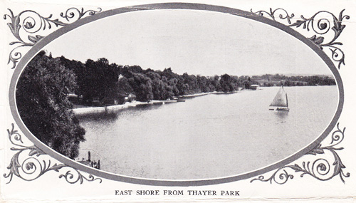 S East Shore from Thayer