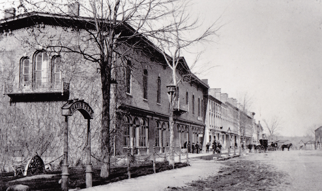 Legg Hall Old