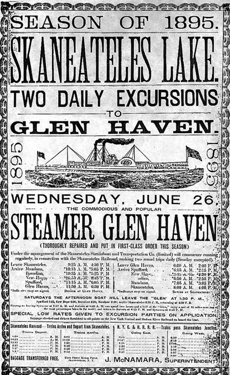 Steamers Schedule