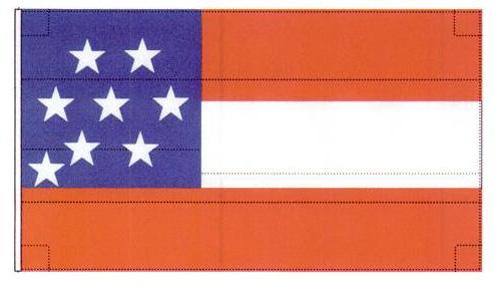 Alabama Flag CU