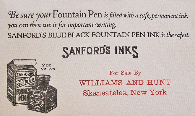 Livingston Hunt Ink copy