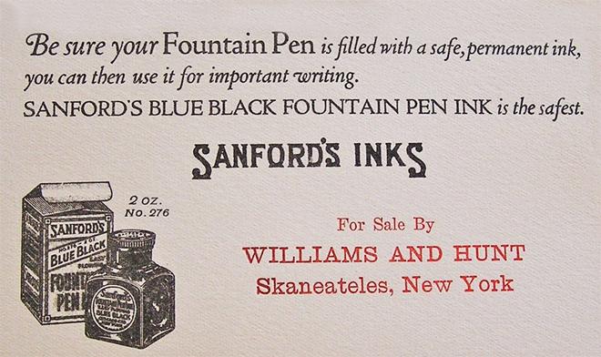 Livingston Hunt Ink copy