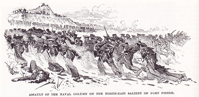 Fort Fisher Charge