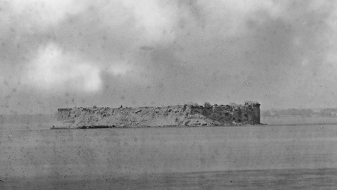 Fort Sumter 1863
