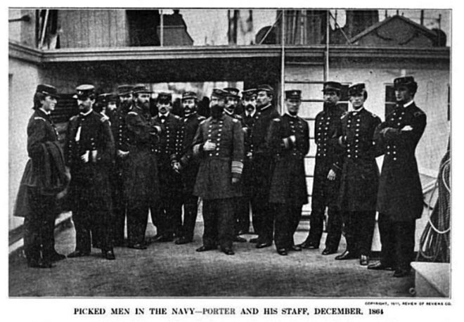USS Malvern Officers