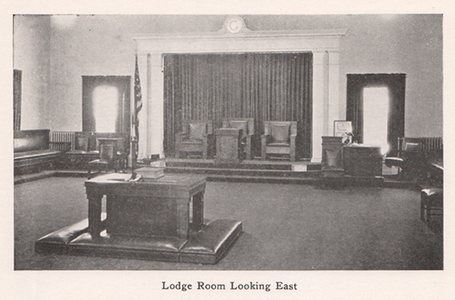 Lodge Room Looking East