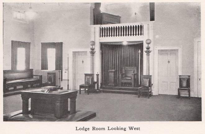 Lodge Room Looking West