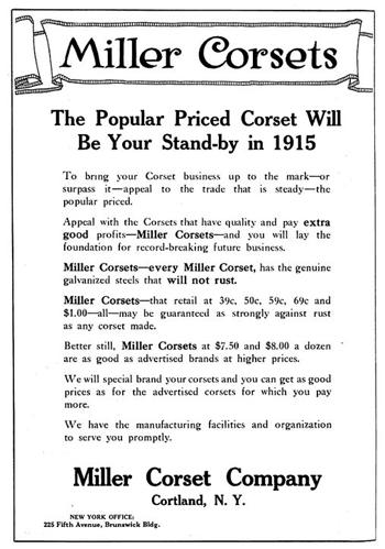 Miller Ad 1915