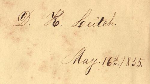 Leitch Signature