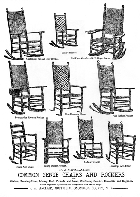 Francis A. Sinclair Is Justly Famous As The Creator Of The Common Sense  Chair And The Proprietor Of The Union Chair Company. But Few People Are  Aware Of His ...