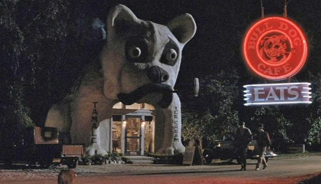 Bull Dog in Movie