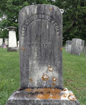 Frederic Mensing's Stone