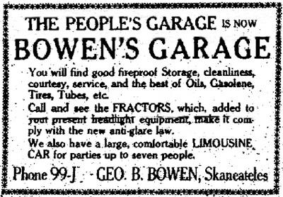 Bowen Garage