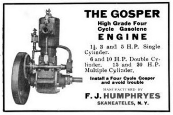 Gosper Engine Ad