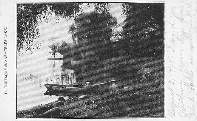 Dog in Boat 1905