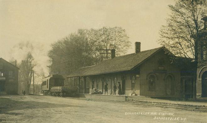 RR Station Skaneateles