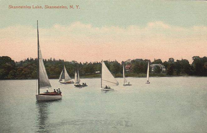 Sailing Six Boats