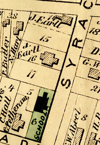 Julius Earll on Map