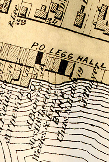 Post Office 1874 Sweet Map