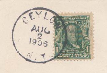 Ceylon Postmark 2