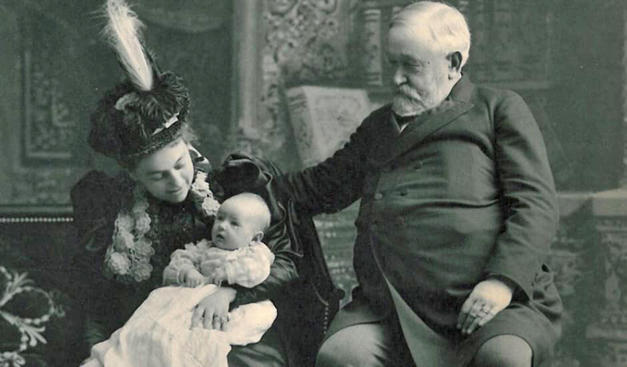 Mary and Ben with Baby